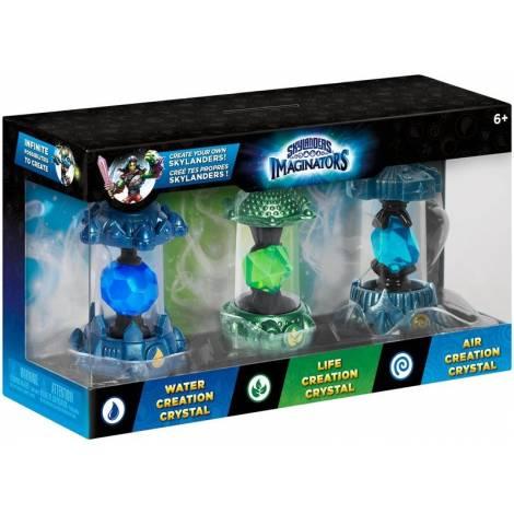 FIG SKYLANDERS IMAGINATORS VESSELS 3PACK (WATER1 & AIR1 & LIFE1) (PS3,XBOX 360,Wii,3DS,PC)