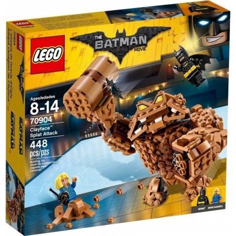 LEGO BATMAN MOVIE CLAYFACE SPLAT ATTACK (70904)