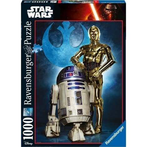 RAVENSBURGER R2-D2 | C-3PO (1000pcs.) (19682)