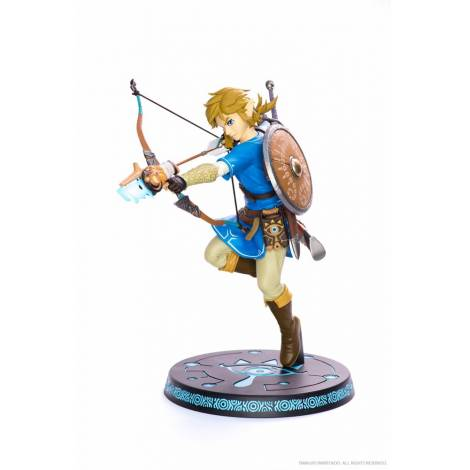 THE LEGEND OF ZELDA BREATH OF THE WILD – LINK WITH BOW PVC STATUE (25cm)