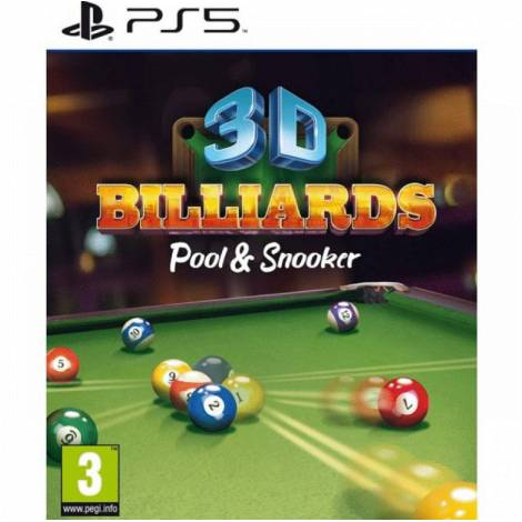 3D BILLIARDS: POOL & SNOOKER REMASTERED (PS5)