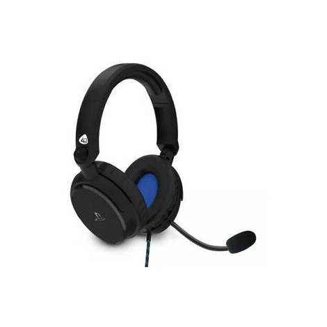 4GAMERS STEREO GAMING HEADSET BLACK PRO4 -50S
