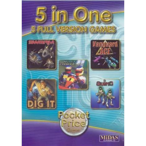 5 In One - 5 Full Version Games (PC)