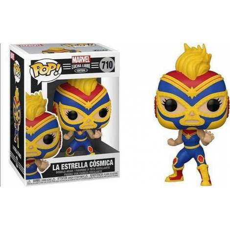 Pop! Marvel: Lucha Libre - El Estrella Cosmica #710 Bubble-Head Vinyl Figure