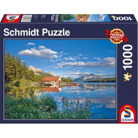 A Weekend At The Lake 1000pcs (58334) Schmidt