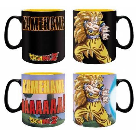 Abysse Dragon Ball Z - Kamehameha 460ml Heat Change Mug (ABYMUG694)