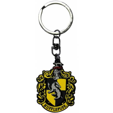 Abysse Harry Potter - Hufflepuff Metal Keychain (ABYKEY159)
