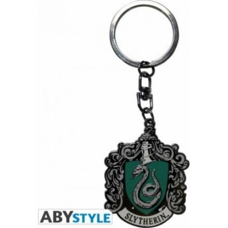 Abysse Harry Potter - Slytherin Metal Keychain (ABYKEY136)