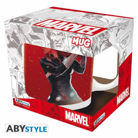 Abysse Marvel - Black Widow on Fire 320ml Mug (ABYMUG770)