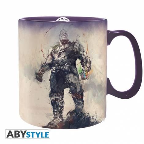 Abysse Marvel - Powerful Thanos 460ml Mug (ABYMUG715)