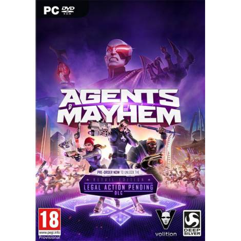 Agents of Mayhem - Steam CD Key ( Κωδικός μόνο) (PC)