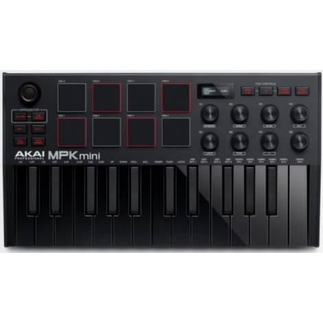 AKAI MPK Mini Black ΜΚ3 Midi Keyboard 25 Πλήκτρων