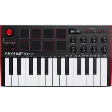 AKAI MPK Mini ΜΚ3 Midi Keyboard 25 Πλήκτρων