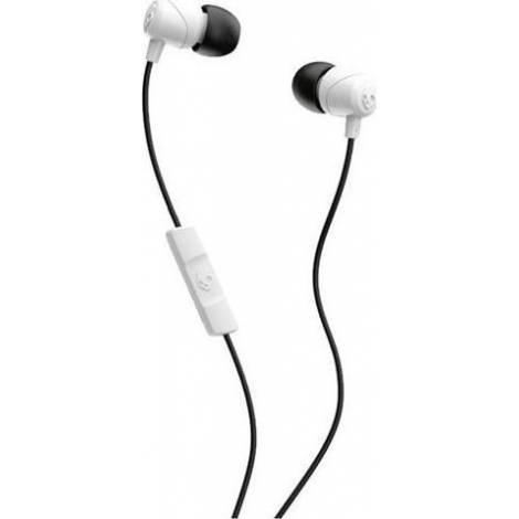 Ακουστικά με μικρόφωνο Skullcandy Jib earbuds white/black (S2DUYK-441)