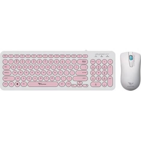 Alcatroz Jellybean U2000WP Peach - Keyboard & Mouse