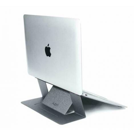 Allocacoc Adhesive Foldable Laptop Stand Silver (DH0117SV/MOFTST)