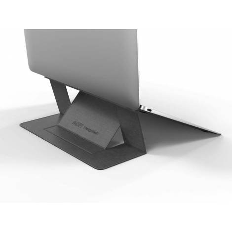 Allocacoc Adhesive Foldable Laptop Stand Grey (DH0117GY/MOFTST)
