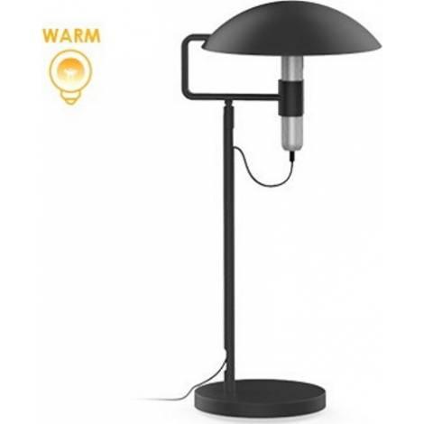 Allocacoc® FlashLight |DeskLight| warm Επαναφορτιζόμενος Φακός LED με βάση γραφείου (ασημί) (10844GY/FLDLST)