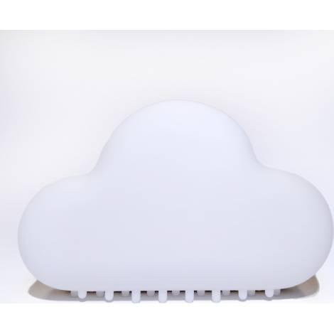 Allocacoc® NightLamp Cloud |MUID| Φωτάκι νυκτός συννεφάκι με ηχητική ενεργοποίηση (λευκό) (DH00100/CLNTLP)
