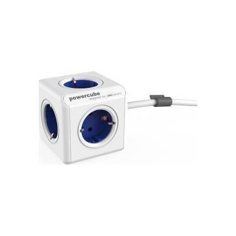 Allocacoc PowerCube Extended 1.5m Μπλε (1306BL/DEEXPC)