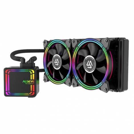 Alseye CPU Liquid Cooler RGB Kit H240 v4.0