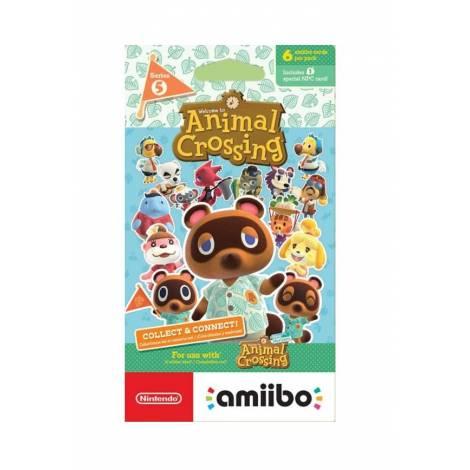 AMIIBO: ANIMAL CROSSING CARDS - SERIES 5 PACK