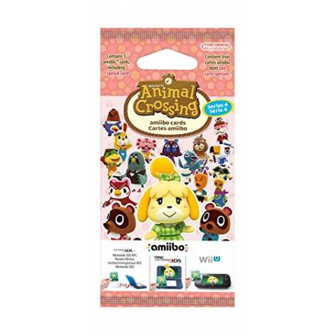 Animal Crossing Amiibo Cards Series 4