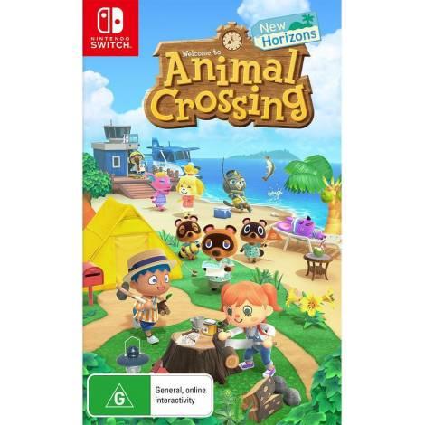 Animal Crossing: New Horizons (Nintendo Switch) & Δώρο (Random Removable sticker 1pc)