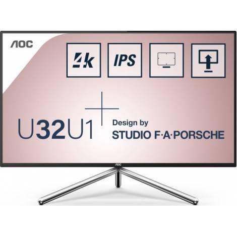 AOC Monitor 32'' 4K IPS 60HZ 5MS (U32U1)