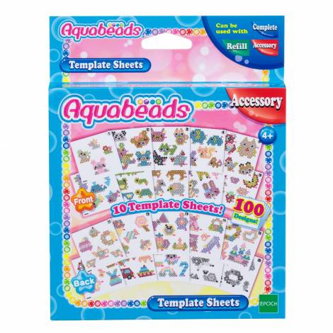 Aquabeads: Accessory - Template Sheets (79268)