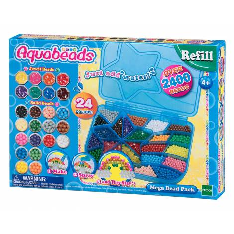 Aquabeads: Refill - Mega Bead Pack (79638)