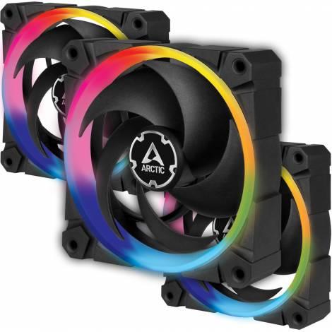 Arctic BioniX P120 A-RGB - 120mm A-RGB illuminated fan - 3 Fans Bundle