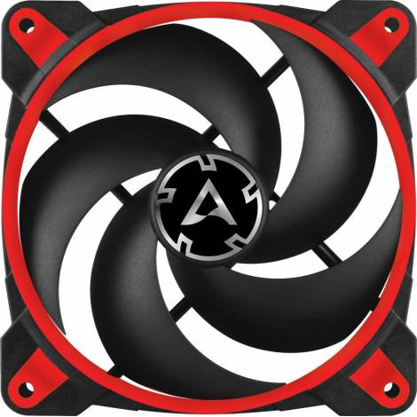Arctic Bionix P120 (RED) - Pressure Optimised 120mm Cooling Fan With PWM PST