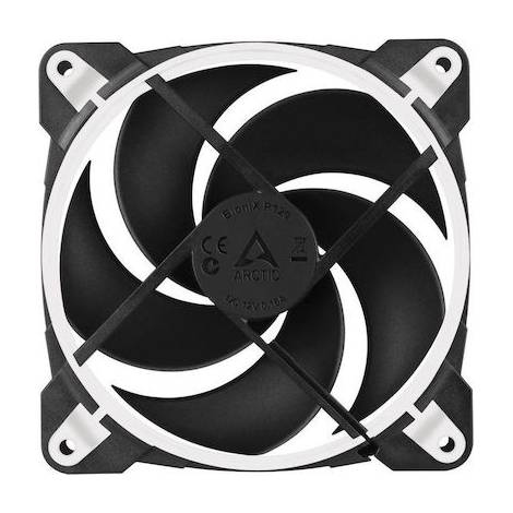 Arctic Bionix P120 (WHITE) - Pressure Optimised 120mm Colling Fan With PWM PST