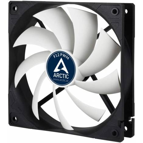 Arctic F12 PWM 4-Pin PWM Rev 2.0 fan with standard case (AFACO-120P2-GBA01)