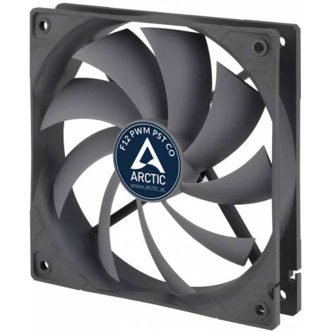 Arctic F12 PWM PST CO 120mm PWM with PST Case Fan for Continuous Operation (AFACO-120PC-GBA01)