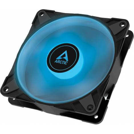 Arctic P12 PWM PST RGB 0dB 120mm Pressure Optimized Case Fan PWM Controlled Speed With PST – RGB