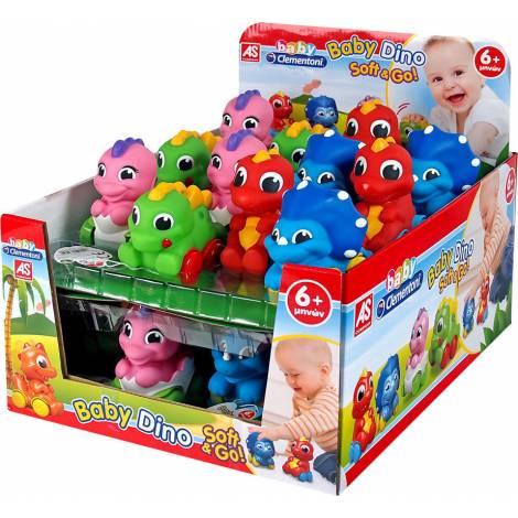 AS Clementoni Baby Dino - Soft & Go (RANDOM 24CDU) (1000-63162)