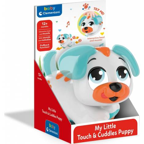 AS Clementoni My Little Touch And Cuddles Puppy (1000-17463)