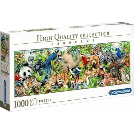 AS Clementoni Puzzle - High Quality Collection Panorama - Wildlife (1000pcs) (1220-39517)