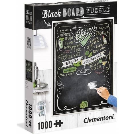AS Clementoni Writable Black Board Puzzle - Cheers (1000pcs) (1260-39467)