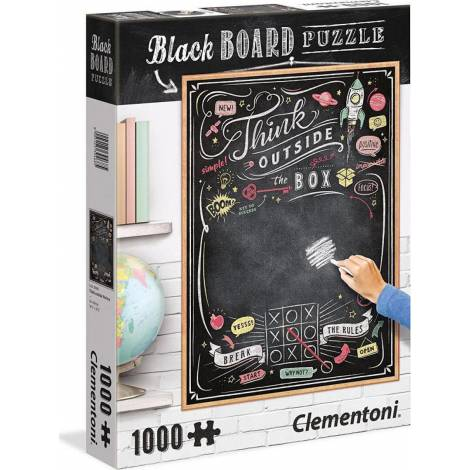 AS Clementoni Writable Black Board Puzzle - Think out of the Box (1000pcs) (1260-39468)