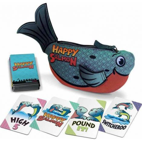 As Company Happy Salmon Παιχνίδι Με Κάρτες 2 Σχέδια (1040-21021)