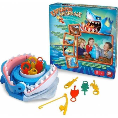 AS COMPANY Καρχαριοπειναλας - BOARD GAME (GREEK) (20173)
