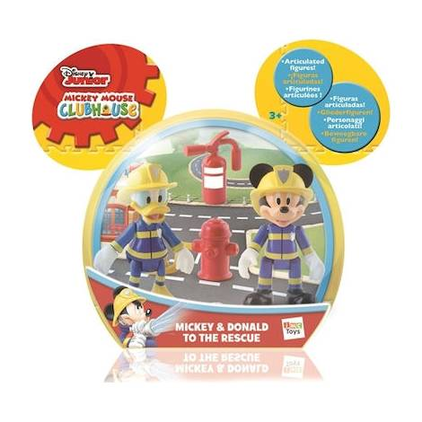 AS Disney Mickey and the Roadster Racers - Mickey & Donald to the Rescue Figures (1003-81908)