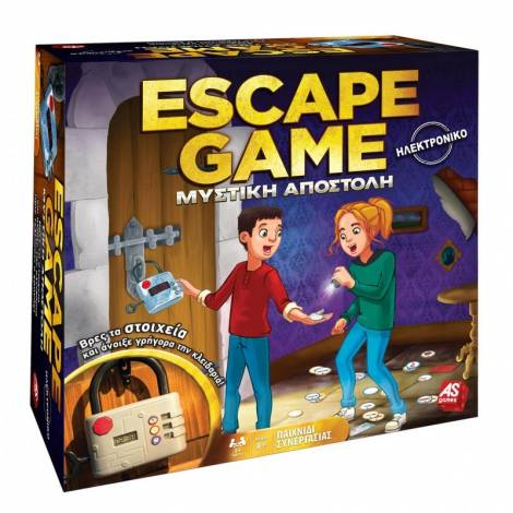 AS Escape Game Μυστική Αποστολή Επιτραπέζιο (1040-20199)