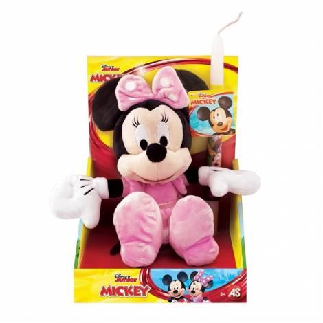 AS Λαμπαδα Disney Junior - Minnie Χνουδωτό (25εκ) (1500-15739)