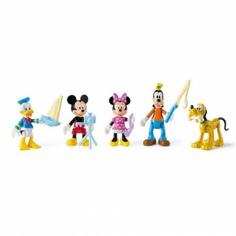 AS Mickey and the Roadster Racers - Mickey, Minnie, Pluto, Donald & Goofy (1003-81861)