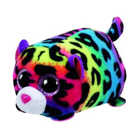 AS COMPANY TY ΤΕΕΝΥ TYS - JELLY THE LEOPARD COLOURFUL PLUSH TOY (4,5cm) (1607-42163)