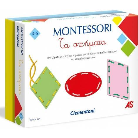 AS Montessori Shapes Lace Τα Σχήματα  (1024-63223)